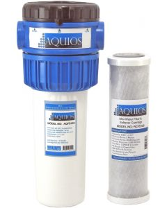 Aquios® AQFS120 Mini Water Softener & Filter System