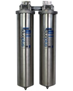 Aquios® DS600S Jumbo Stainless Steel Salt-Free Water Conditioner & Filter System