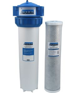 Aquios® AQFS234L Jumbo Water Softener & Filter System, VOC Reduction